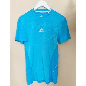 ADIDAS Running Blue Athletic Unisex Shirt